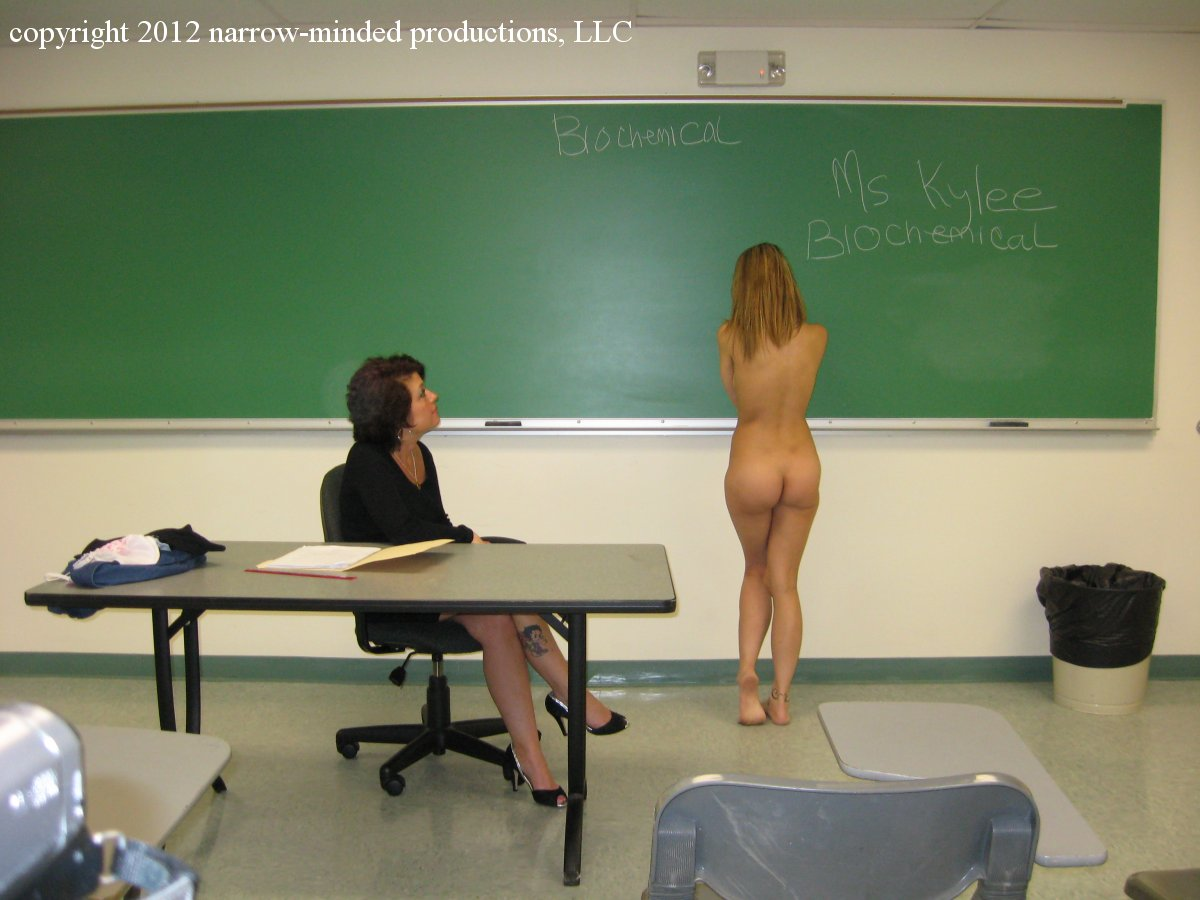 Naked In The Classroom